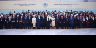 Din Syamsuddin Hadiri The 2nd Baku Summit of World Religious Leaders di Azerbaijan