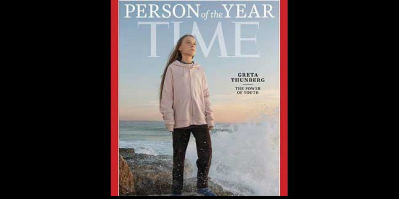 Aktivis Muda Greta Thunberg Terpilih Sebagai Person Of The Year 2019