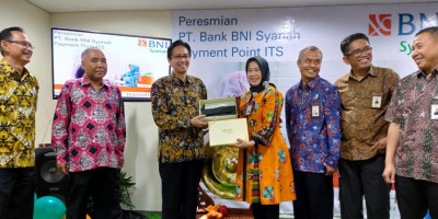 BNI Syariah Buka Payment Point di ITS