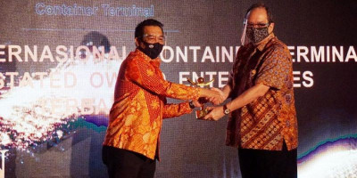 JICT Raih Penghargaan The Best III Emerging Enterprise di Ajang 9th Anugerah BUMN 2020