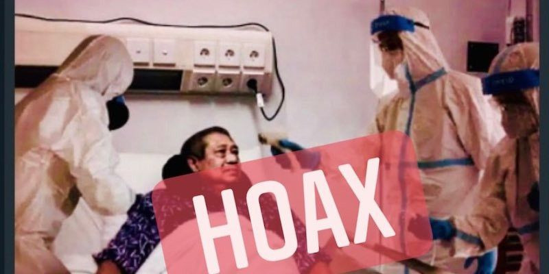 SBY Sakit, HOAX